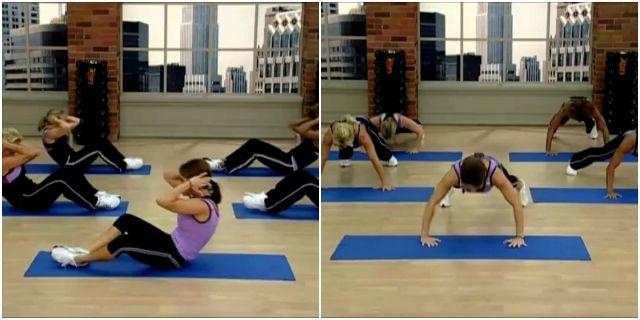 интенсивная домашняя кардио-тренировка с Кейт Фридрих