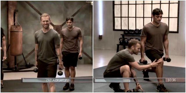 силовая тренировка с Бобом Харпером
