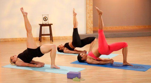 Силовая йога с Джанет Дженкинс