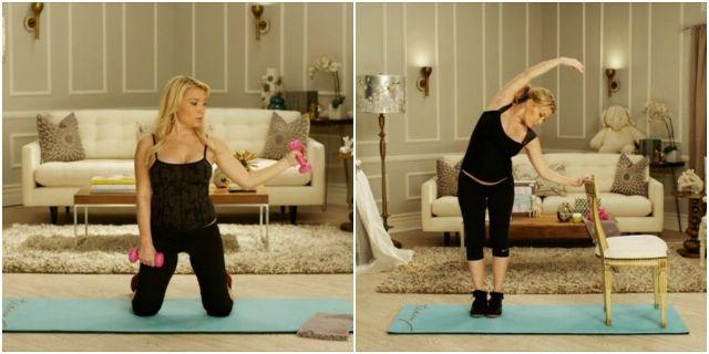 Фитнес для беременных с Трейси Андерсон