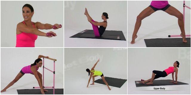 Балетные тренировки с Лиа Сараго