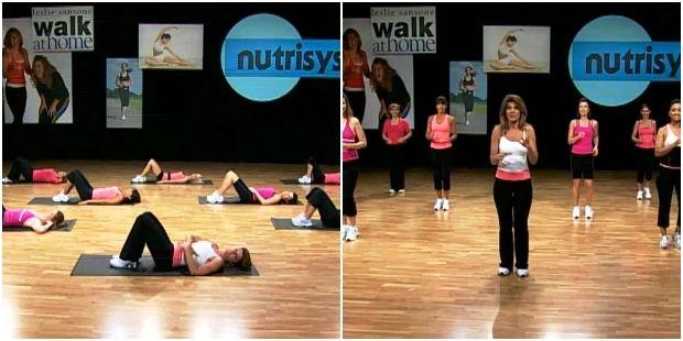 Тренировка с Лесли Сансон