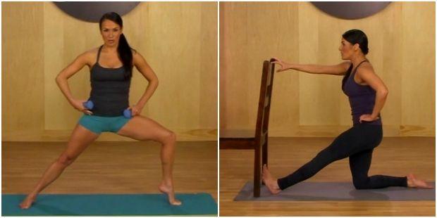 Тренировки для стройного тела от Сюзанны Боуэнс