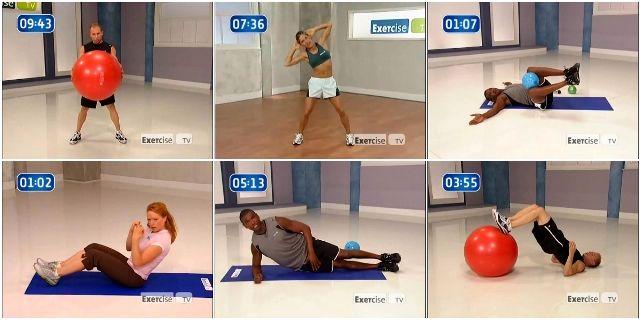 Накачать пресс в домашних условиях с тренерами Exercise TV
