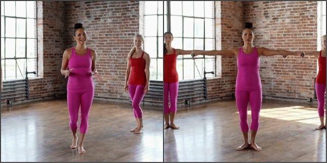 Тренировка в балетном стиле