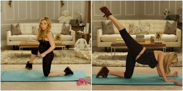 Тренировки для беременных c Трейси Андерсон