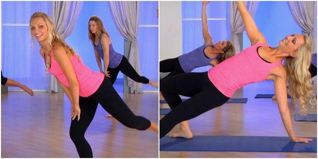 Кардио-тренировки c Трейси Маллет для тех у кого болят колени