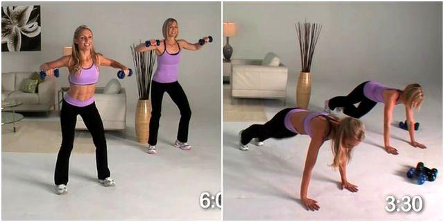 Тренировки для похудения после родов в домашних условиях 189