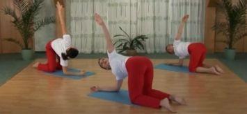 тренировка от болей в спине