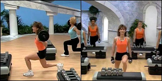 тренировка дома для плеч и ног