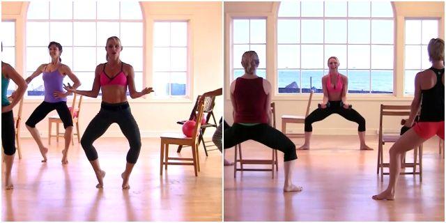 балетные тренировки Трейси Маллет
