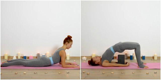 эффективные тренировки для спины с Катериной Буйда