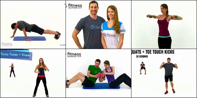 youtube-канала FitnessBlender
