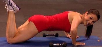 тренировка для похудения на основе пилатеса от Сюзанны Боуэн