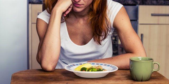 Большой дефицит калорий