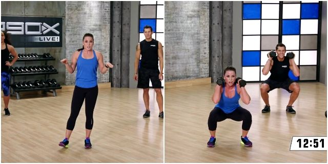 P90X Live: Lower Body Cardio