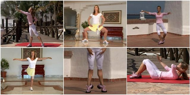 Фитнес-балет с Джои Булл на русском языке для красивых стройных ног
