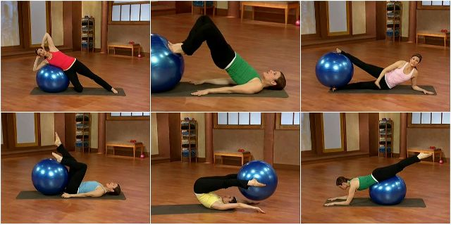 Pilates on the Ball (Пилатес с фитболом)