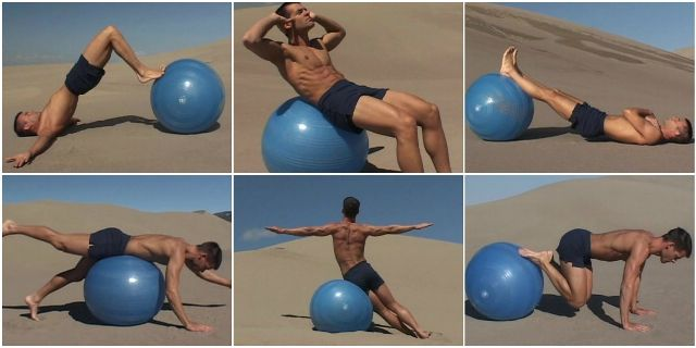 Adam Ford Swiss Ball: Basics