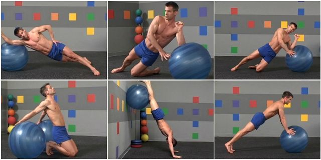 Adam Ford Swiss Ball: Upper Body