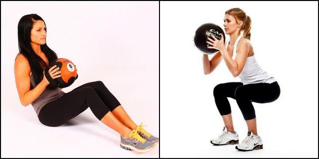 Тренировки с медболом