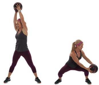 Медбол: упражнения