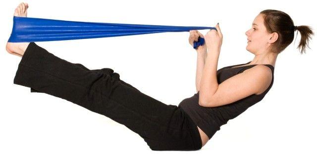 Эластичные ленты для фитнеса купить в Искитиме
