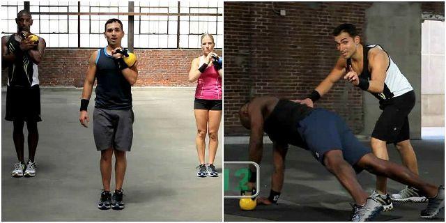 KettleBell Drills (Тренировки с гирей)