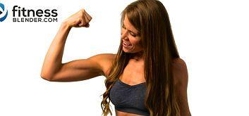 9 силовых тренировок с гантелями для всего тела от youtube-канала FitnessBlender