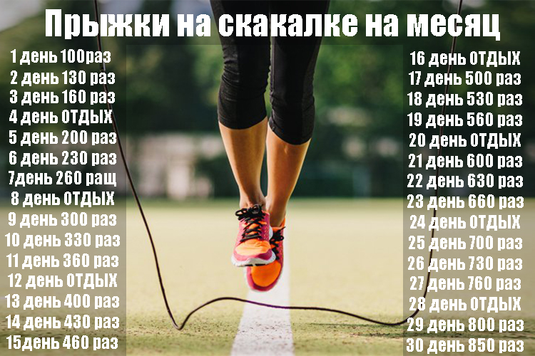 30 дневная программа для похудения  подробный план
