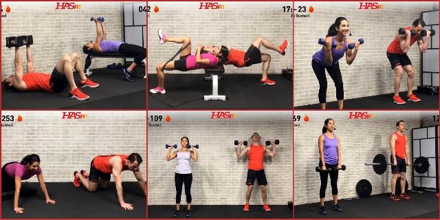 Силовые тренировки для похудения: программа для