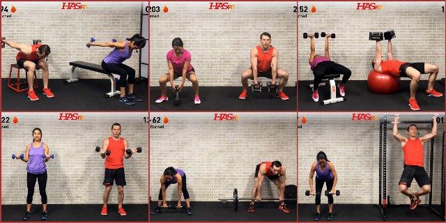Силовые тренировки в домашних условиях для роста мышц