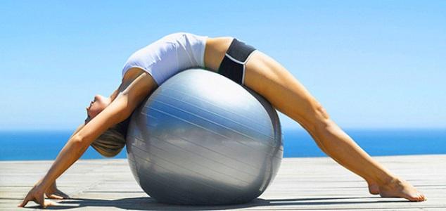 Супер-подборка упражнений с фитболом