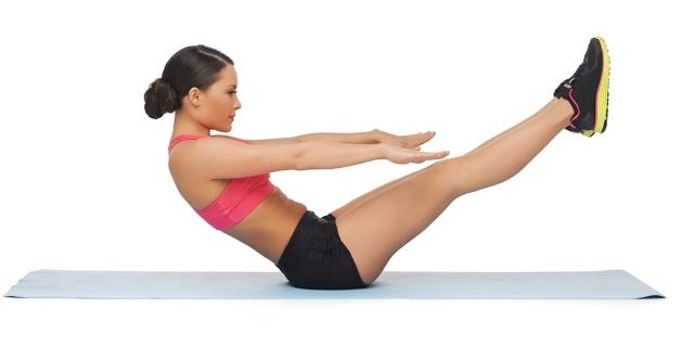 60 лучших упражнений из пилатеса в гифках
