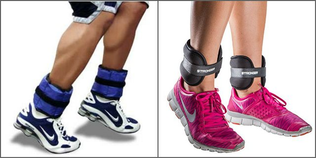 Утяжелители для ног: польза, вред и как выбрать