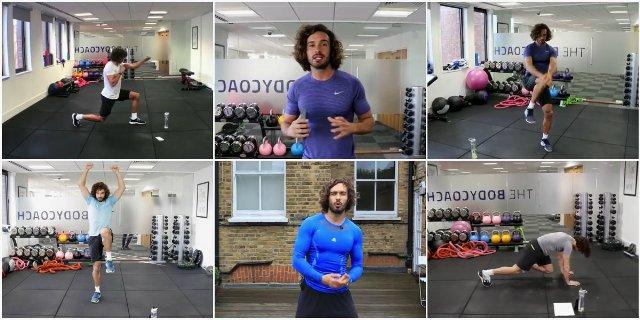 12 коротких низкоударных тренировок и тренировок для начинающих от Body Coach