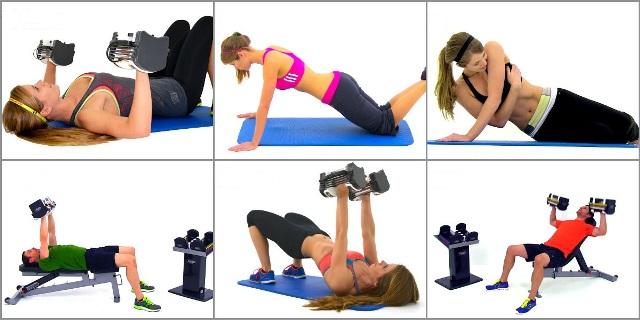 15 силовых тренировок с гантелями для рук, плеч, спины и груди от Fitness Blender