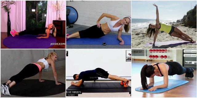 Топ-15 тренировок с планками для похудения (видео)