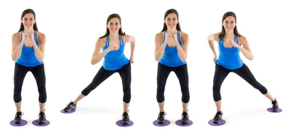 Глайдинг упражнения