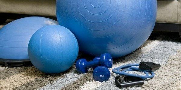 Инвентарь для домашних тренировок