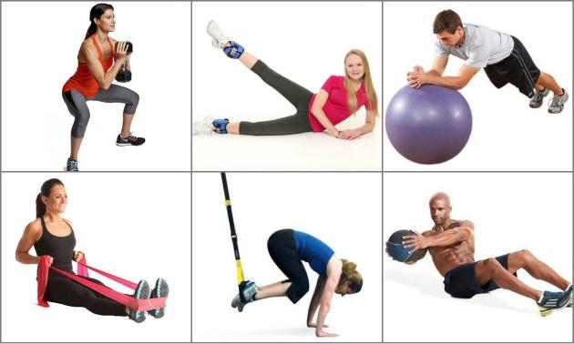 Фитнес-инвентарь для домашних условий
