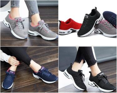 Мягкие кроссовки с амортизационной подошвой