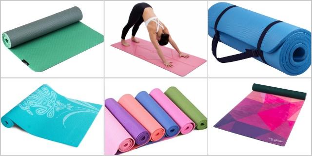 Коврик для йоги и фитнеса: как выбрать?