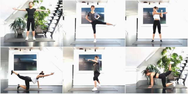 12 часовых тренировок для похудения и тонуса мышц от youtube-канала 1 Workout a Day