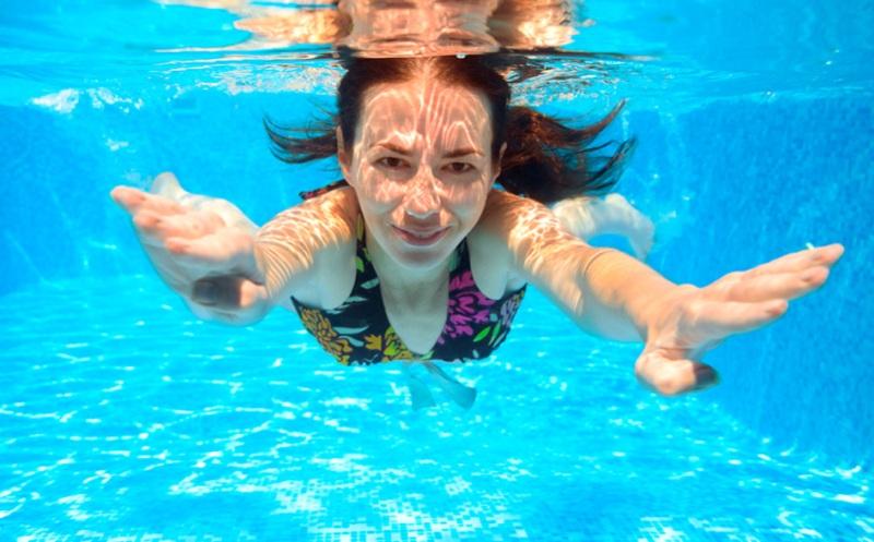 Плавание для похудение