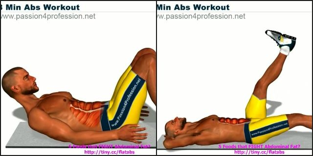 8 Min Abs Workout
