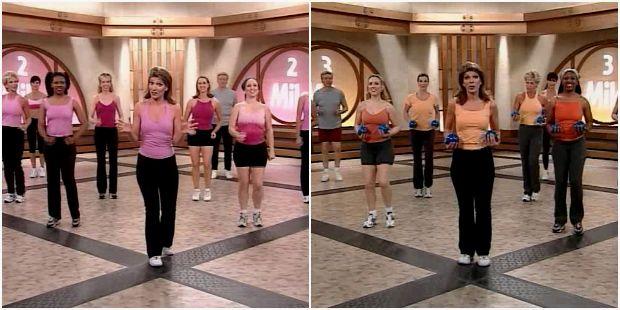Обзор кардио-тренировки с Лесли Сансон для начинающих