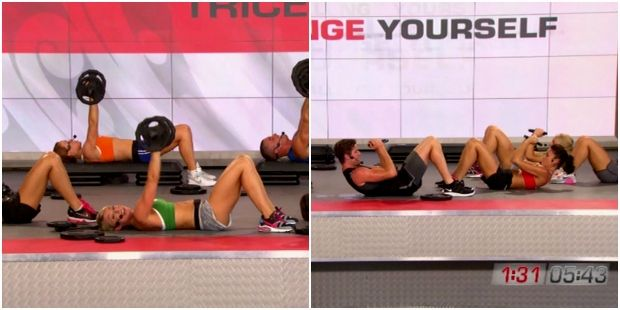 Les Mills Pump Workout
