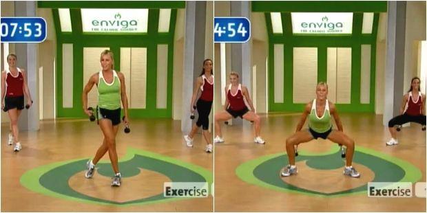 Обзор качественной кардио-тренировки с Синди Уитмарш