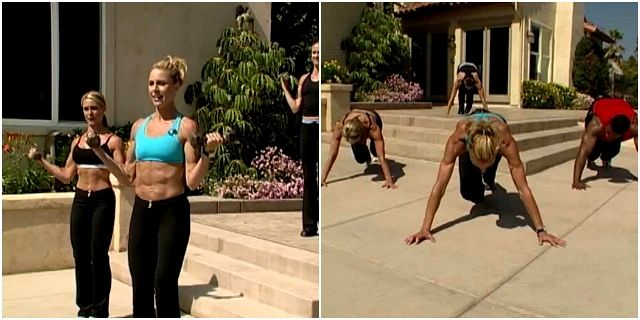 Интенсивная тренировка от Синди Уитмарш